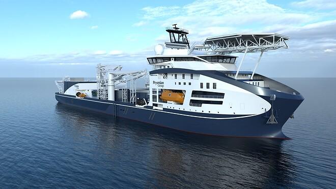 Prysmians nye skib