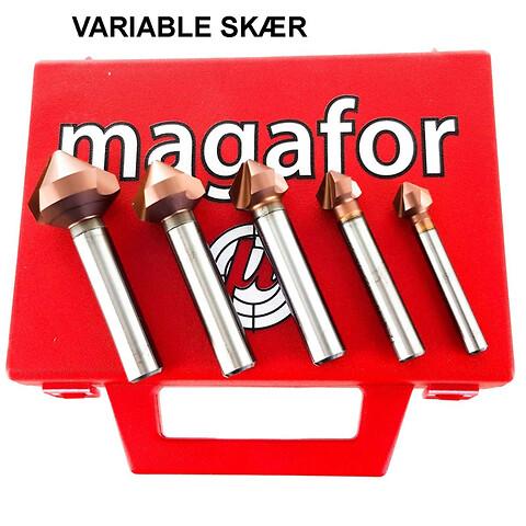 MAGAFOR forsænkersæt 90° 76493A/91 i eksklusiv topkvalitet fra HELMUTH A. JENSEN A/S - MAGAFOR forsænkersæt 90 grader 76493A/91 i eksklusiv topkvalitet fra HELMUTH A. JENSEN A/S