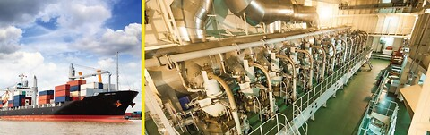 Cargo Ship, Two-Stroke Engine – Oil Condition Monitoring - #oilmonitoring #tandelta #mainengine #marine #demp