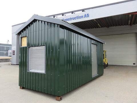 Spesialtilpasset container fra Trans Construction