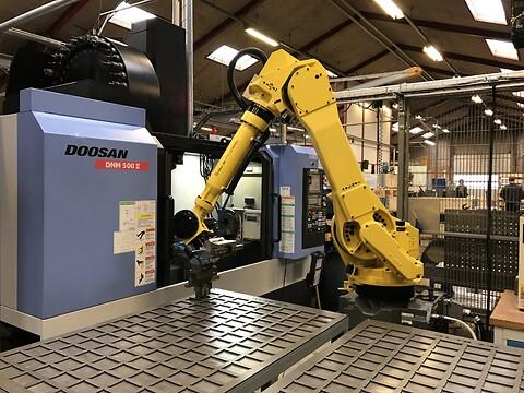 Robothåndtering i højsædet ved HMA