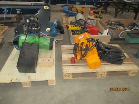 brugte eltaljer fra 60-  3000 kg sælges