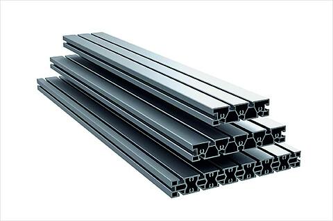 Rektangelprofil RE 40 för universell precisions-, fastspännings- och bearbetningsyta - profiler\naluminiumprofil\nbordsyta\nstabilisator\nkonstruktion\nautomation