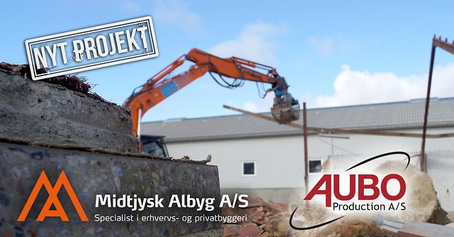 Erhvervsbyggeri - vi bygger til Aubo Production A/S