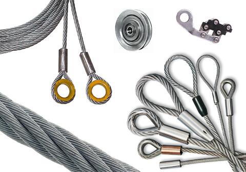 Stålwire og wireprodukter