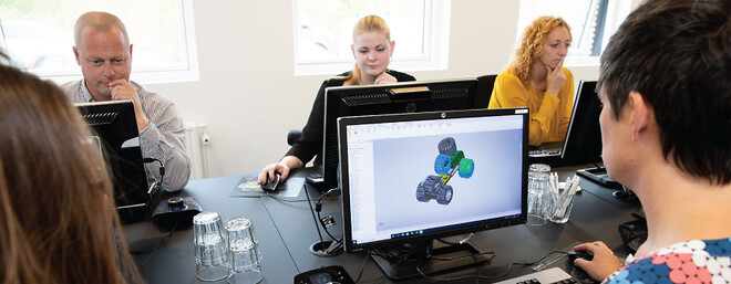 Autodesk Inventor Videregående kursus hos Invent A/S