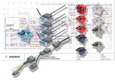 gesis® - stikbar installation - Wieland Electric leverer gesis stikbar installation