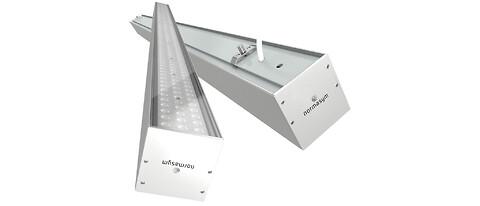Kontinuerlig LED-armatur på specialmått