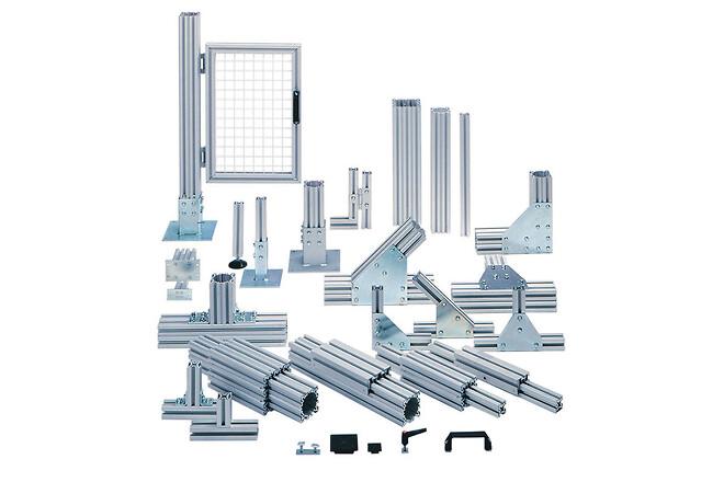 Profilsystem i aluminium - Movomech Mechprofile