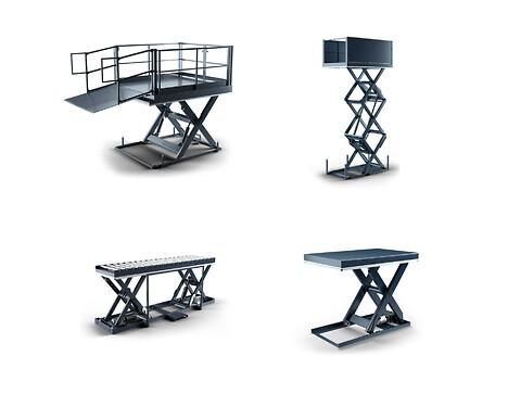 Har i styr på jeres arbejdspladsindretning? - løfteborde til pakkeri, lager, palletering, vareind- og aflevering.