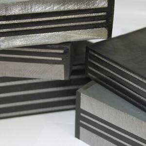 AAG Armeret elastomer bærelejer