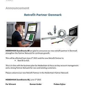 Bast & Co. Heidenhain Retrofit Partner Danmark