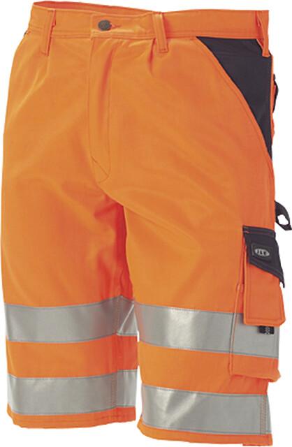 Arbejdsshorts, hi-vis, kl. 1, 11109-1 - orange/marine