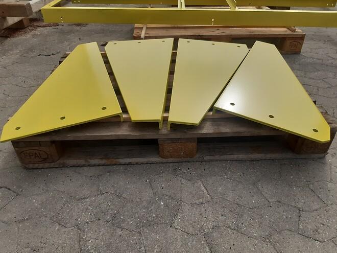 Klip buk og overfladebehandling af stål Rødbyhavn