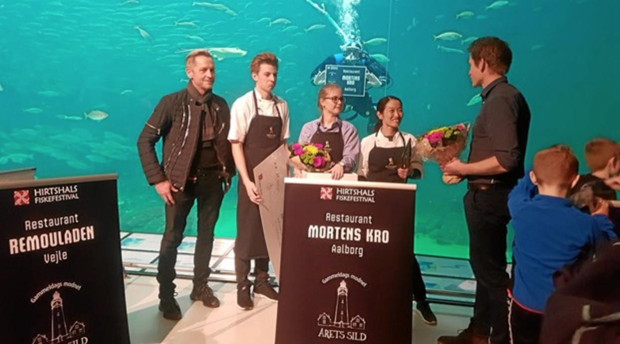 Mortens Kro Vinder årets Sild 2018 Food Supply Dk