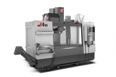 Haas VF-4SS 2019 - demomaskin