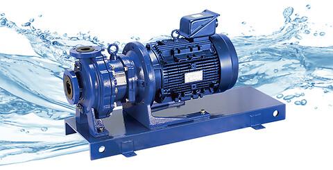 IWAKI introducerer to effektive, magnetdrevne kemipumper - Magnetdrevne centrifugalpumper fra IWAKI  MDM40/50-2 størrelserne