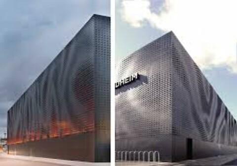 Pulverlakkerte fasadeplater tilbys av NOT Pulverlakk