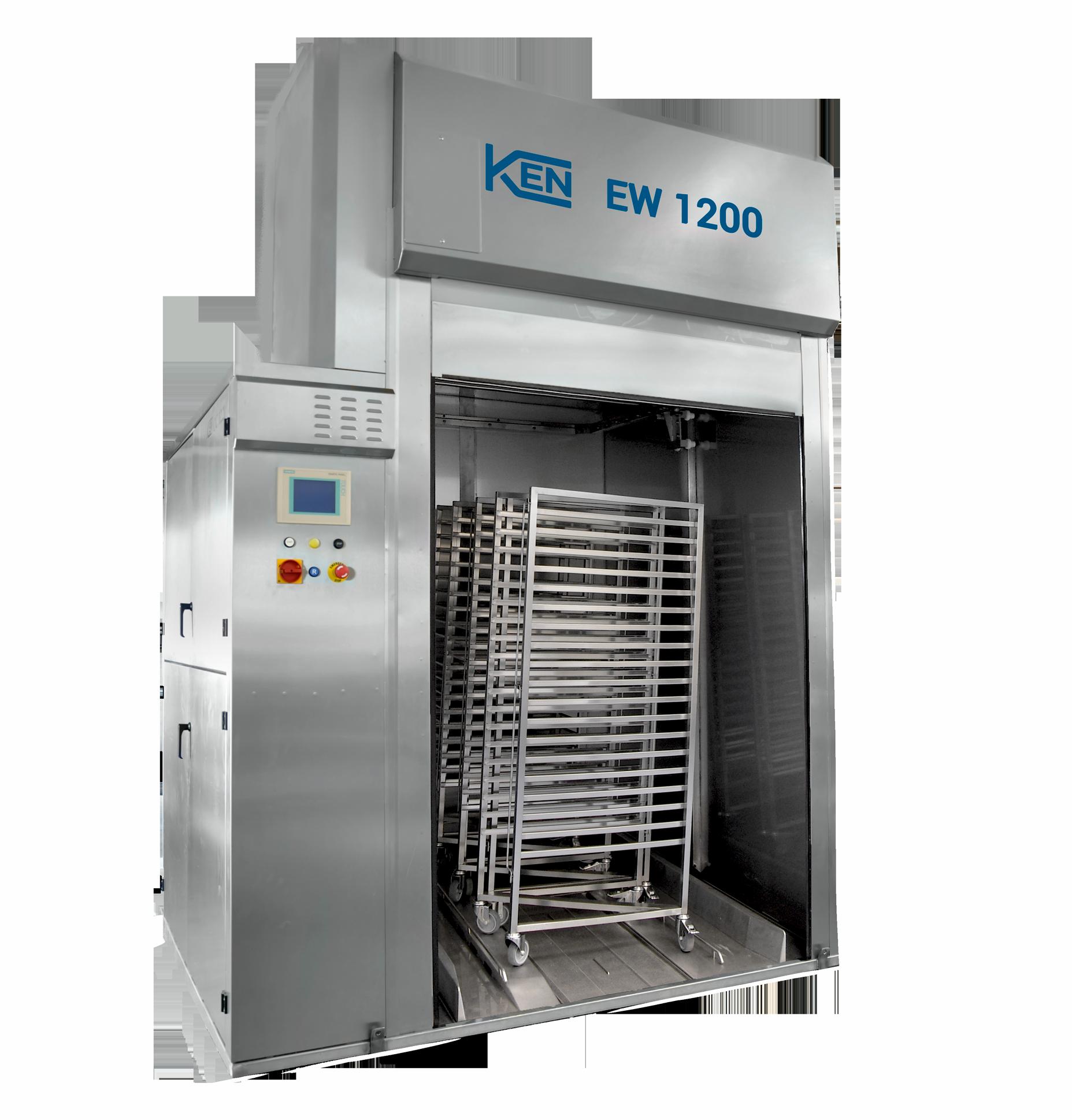 KEN EW 12001300 Hurtig og effektiv vask af større emner