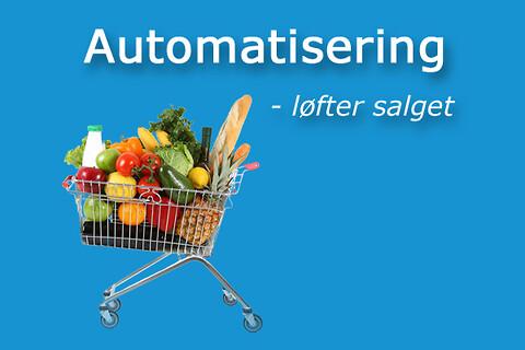 Automatisering løfter salget og frigiver tid til kunderne - Automatisering hyldepleje