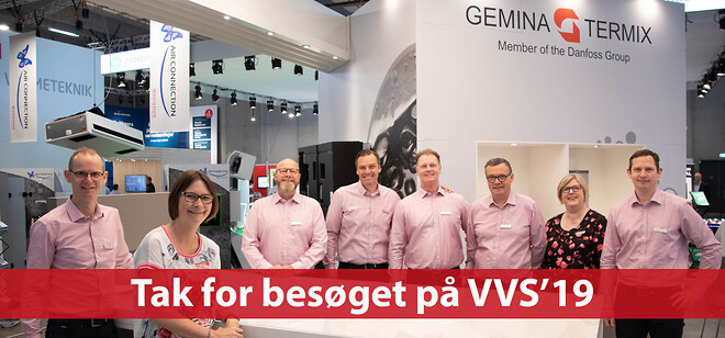 Gemina Termix på VVS-messen 2019
