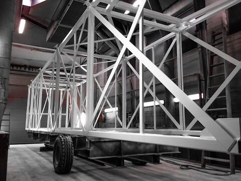 NIOC udfører alt inden for brandsikring af stålkonstruktioner intern og ekstern