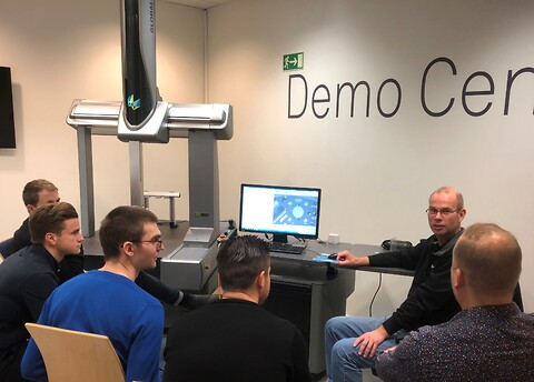 PC-DMIS, mätmaskin, påbyggnad - Göteborg