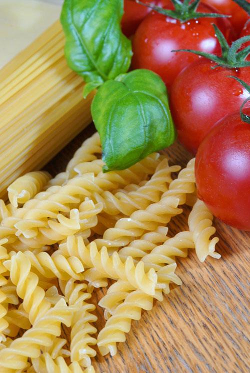 tørret pasta