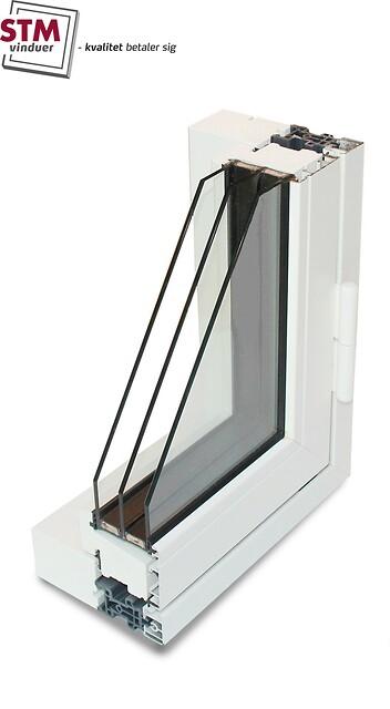 Vinduer / Døre i Træ/alu (TINIUM 2020+) fra STM Vinduer
