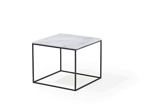 Sofabord marmor square (58702537) - metalstel b