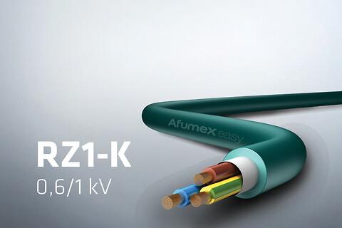 RZ1-K 1 kV - fleksibelt installationskabel 90°C - Prysmian AFUMEX EASY RZ1-K 1kV