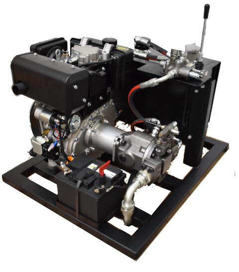 Hydraulisk pumpestation med variabel piston pumpe - Hydraulisk pumpestasjon med variabel stempelpumpe