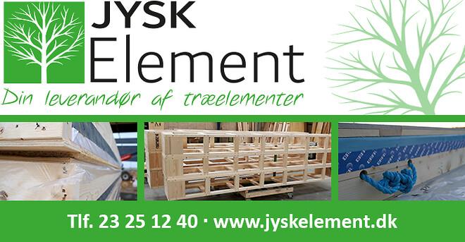 Træelementer til byggeindustrien