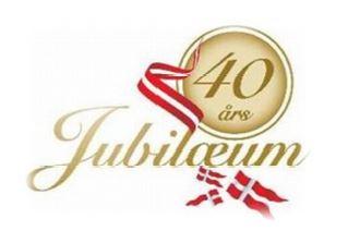 40 års jubilæum kort