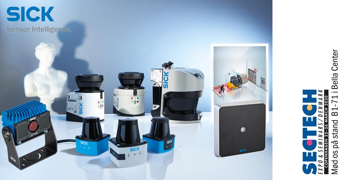 Specialdesignede laserscannere til sikring