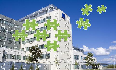 Kurs i NS 3935 Integrerte tekniske bygningsinstallasjoner (ITB) Prosjektering, utførelse og idriftse