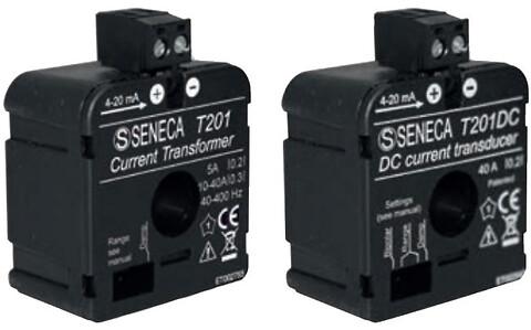Strømtransformere med indbygget transducer