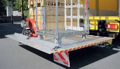 Dhollandia lift/læssebagsmæk
