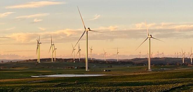 Collector Wind Farm Austrialien