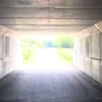 Graffitien er blevet fjernet fra betonvæggene i fire tunneller i Herning