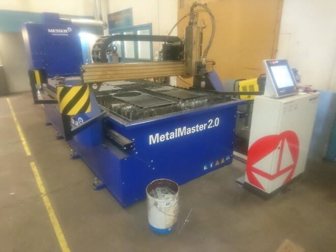 Løwener sælger brugt Messer Metalmaster 3015 plasmaskæremaskine. Som ny. Ikke brugt siden sommer 2019