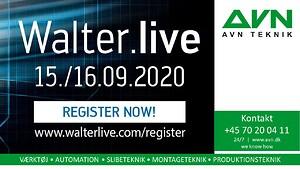 AVN Teknik inviterer til Walters gratis online Event