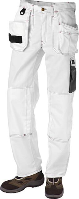 Arbejdsbukser, 9204 - hvid/grå