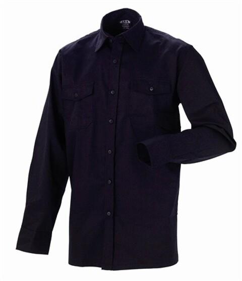 Antiflame/antistatisk arbejdsskjorte, sort - 12021
