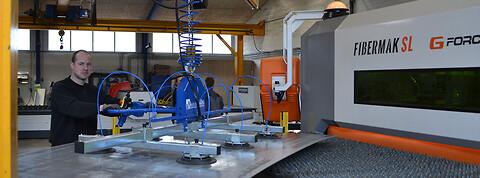 Randers Maskinfabrik tilbyder laserskæring - Randers Maskinfabrik, laserskæring tilbydes