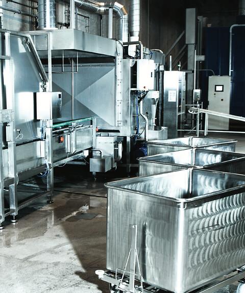 Affaldshåndterings- og vaskesystem