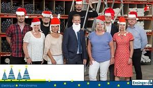ensinger danmark, julhilsen, tak for i år, nytår hilsen,