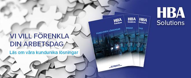 Kundanpassade lösningar - HBA solution
