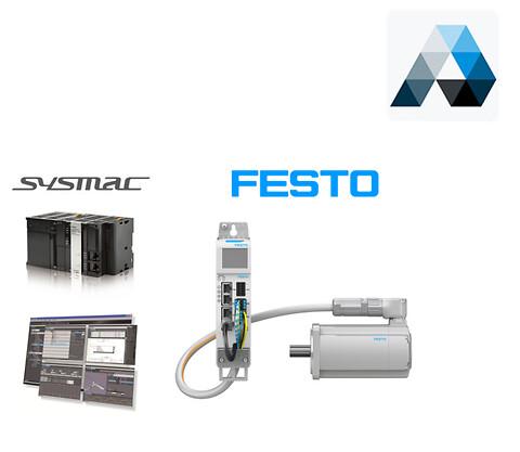 Gratis webinar: Festo CMMT Servokontroller i Omron Sysmac Studio