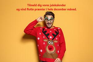 Tilmeld dig Wexøes julekalender